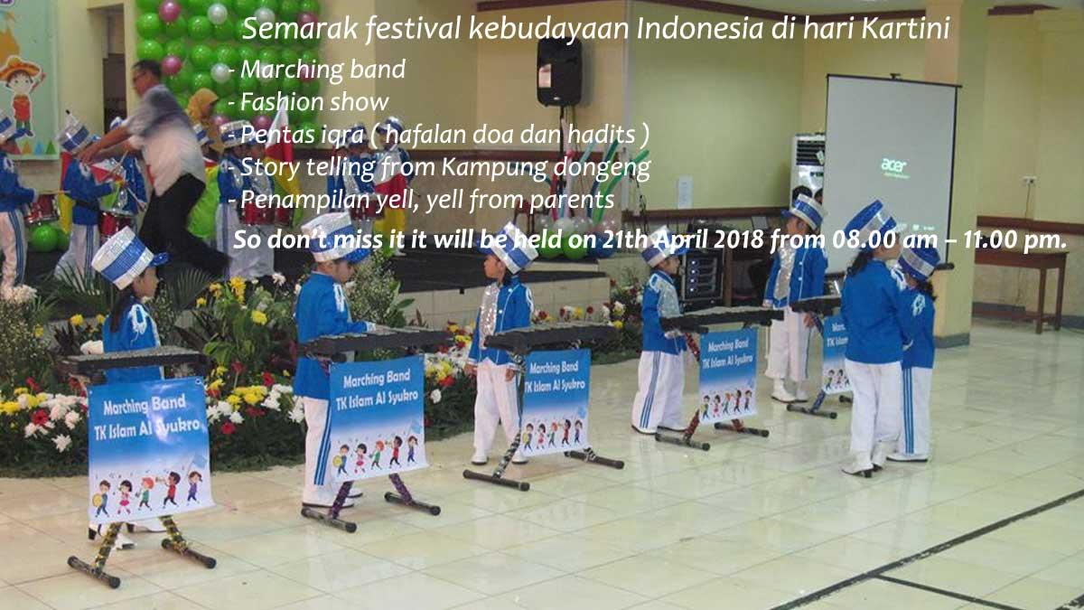 Semarak festival kebudayaan Indonesia di hari Kartini